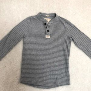 Abercrombie and Fitch Gray Muscle T-Shirt